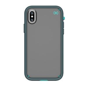 Купить Чехол-бампер Speck Presidio ULTRA Sand Grey/Surf Teal/Mountainside Grey для iPhone X