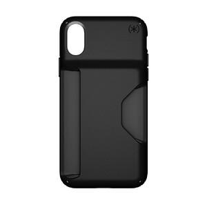 Купить Чехол Speck Presidio Wallet Black/Black для iPhone X