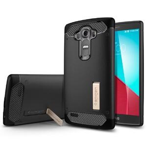 Купить Чехол Spigen Capsule Black для LG G4