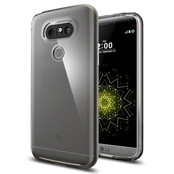 Чехол Spigen Neo Hybrid Crystal Gunmetal для LG G5
