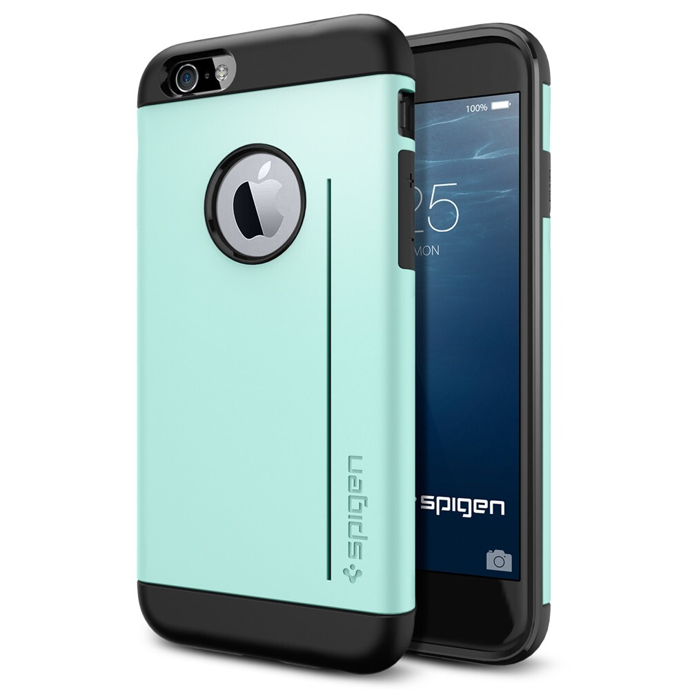 Чехол Spigen Slim Armor S Mint для iPhone 6/6s