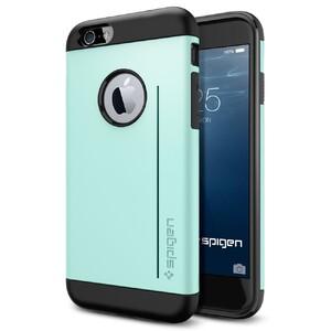 Купить Чехол Spigen Slim Armor S Mint для iPhone 6/6s