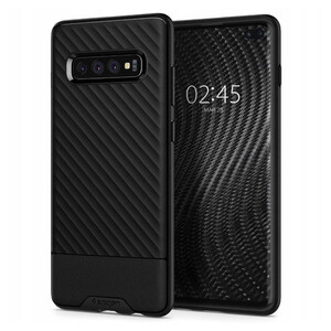 Купить Противоударный чехол Spigen Core Armor Black для Samsung Galaxy S10 Plus