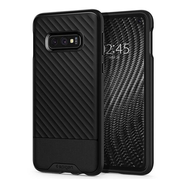 Противоударный чехол Spigen Core Armor Black для Samsung Galaxy S10e