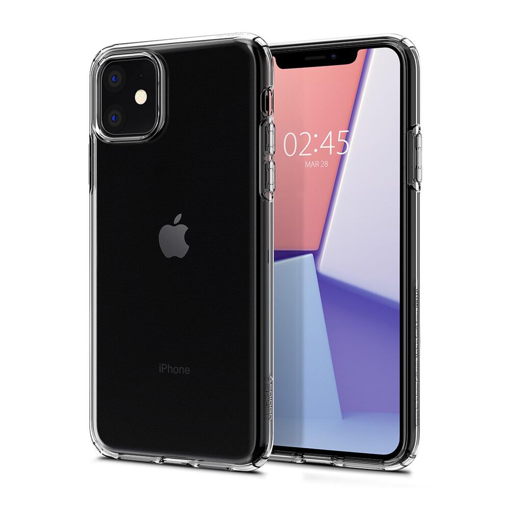 Чехол Spigen Crystal Flex Crystal Clear для iPhone 11