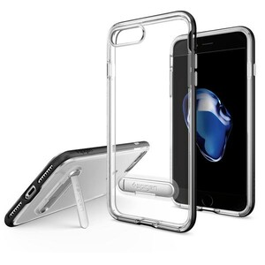 Купить Чехол Spigen Crystal Hybrid Black для iPhone 7 Plus/8 Plus
