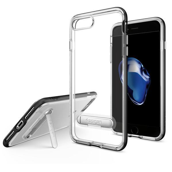 Чехол Spigen Crystal Hybrid Black для iPhone 7 Plus