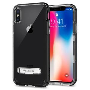 Купить Чехол Spigen Crystal Hybrid Black для iPhone X