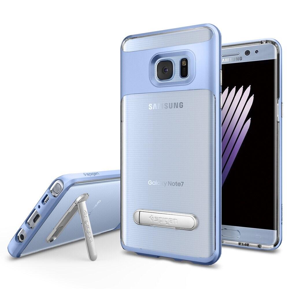 Чехол Spigen Crystal Hybrid Blue Coral для Samsung Galaxy Note 7