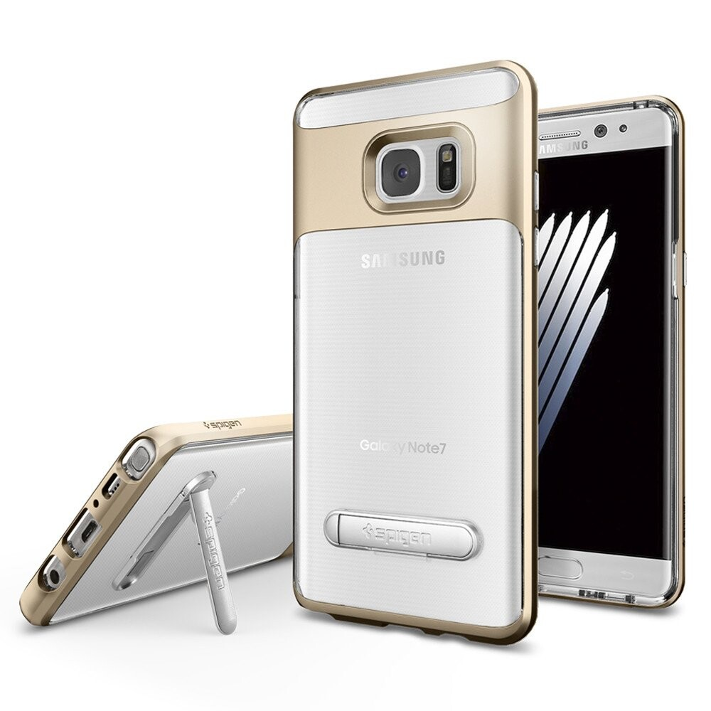 Чехол Spigen Crystal Hybrid Champagne Gold для Samsung Galaxy Note 7