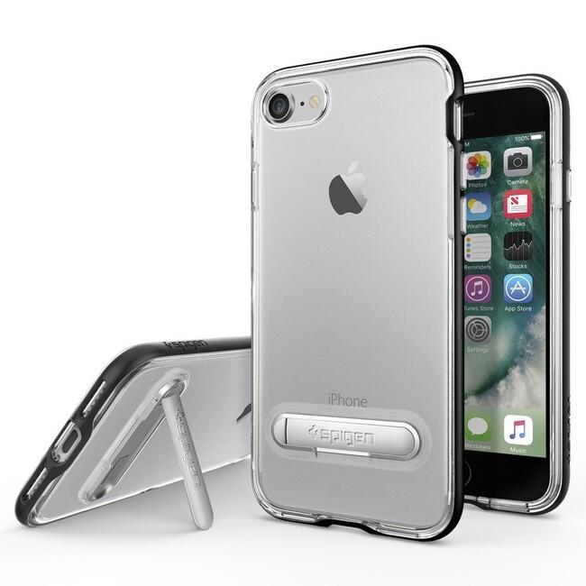 Чехол Spigen Crystal Hybrid Black для iPhone 7