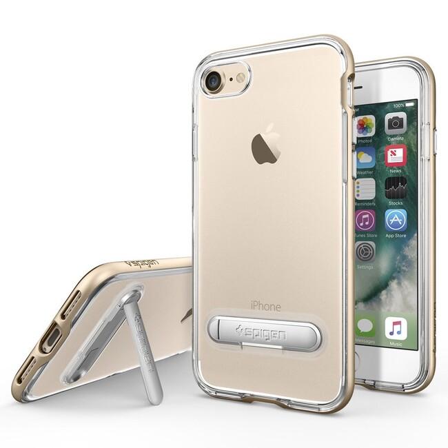 Чехол Spigen Crystal Hybrid Champagne Gold для iPhone 7