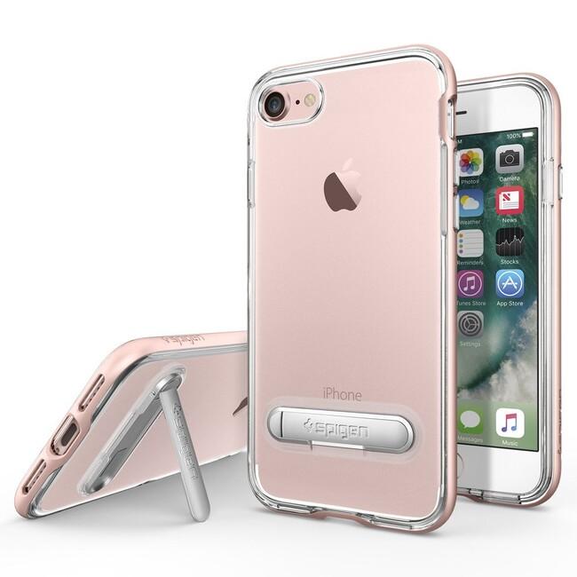 Чехол Spigen Crystal Hybrid Rose Gold для iPhone 7