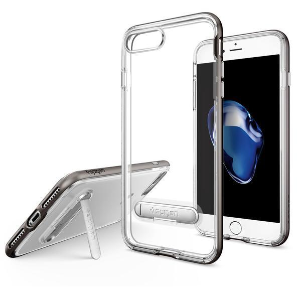 Чехол Spigen Crystal Hybrid Gunmetal для iPhone 7 Plus