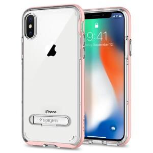Купить Чехол Spigen Crystal Hybrid Rose Gold для iPhone X
