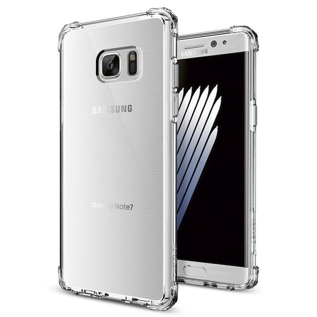 Чехол Spigen Crystal Shell Clear Crystal для Samsung Galaxy Note 7