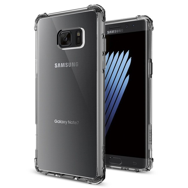 Чехол Spigen Crystal Shell Dark Crystal для Samsung Galaxy Note 7