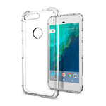 Чехол Spigen Crystal Shell Clear для Google Pixel