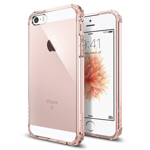 Купить Чехол Spigen Crystal Shell Rose Crystal для iPhone SE/5S/5