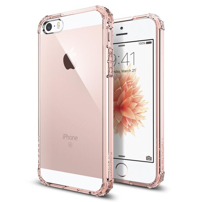 Чехол Spigen Crystal Shell Rose Crystal для iPhone SE/5S/5