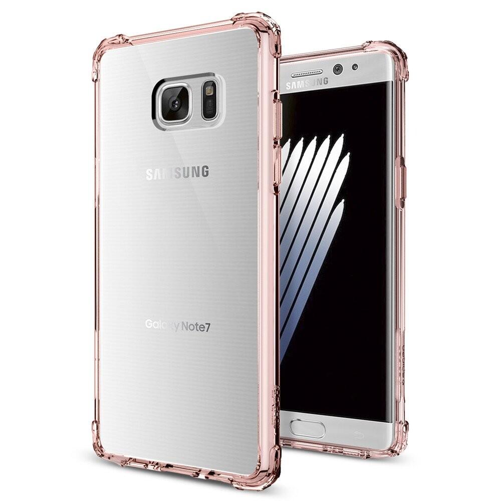 Чехол Spigen Crystal Shell Rose Crystal для Samsung Galaxy Note 7