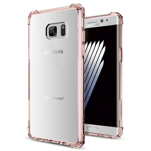 Купить Чехол Spigen Crystal Shell Rose Crystal для Samsung Galaxy Note 7