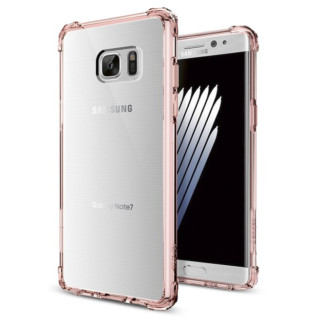 Чехол Spigen Crystal Shell Rose Crystal для Samsung Galaxy Note 7