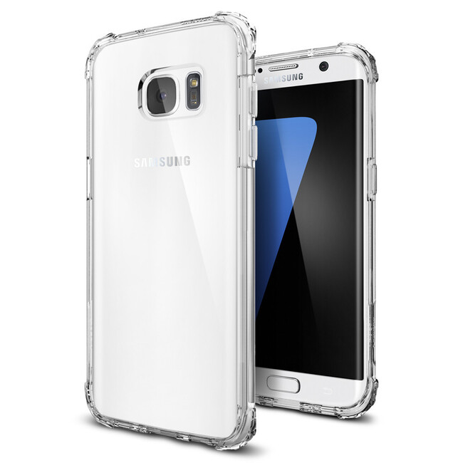 Чехол Spigen Crystal Shell для Samsung Galaxy S7 edge