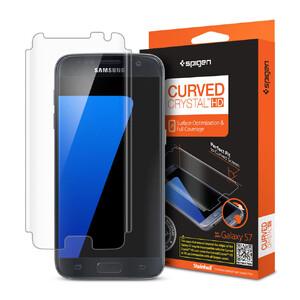 Купить Защитная пленка Spigen Curved Crystal HD для Samsung Galaxy S7