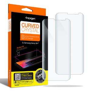 Купить Защитная пленка Spigen Curved Crystal для Samsung Galaxy S8 Plus