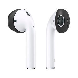 Купить Силиконовые накладки Spigen Ear Tips Black для Apple AirPods