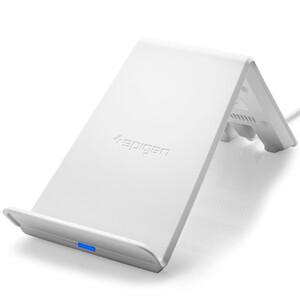 Купить Быстрое беспроводное зарядное устройство Spigen F303W White