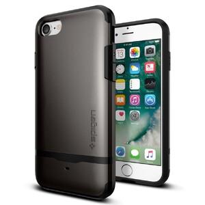 Купить Чехол Spigen Flip Armor Gunmetal для iPhone 7/8