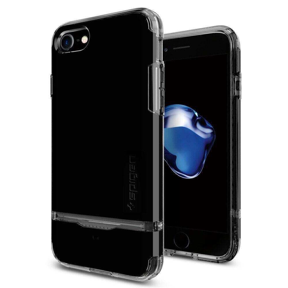 Чехол Spigen Flip Armor Jet Black для iPhone 7/8