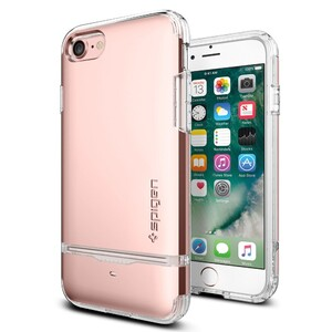 Купить Чехол Spigen Flip Armor Rose Gold для iPhone 7