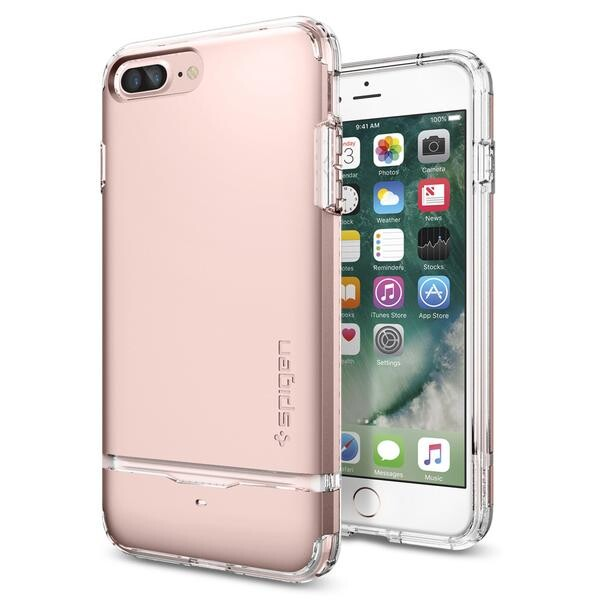 Чехол Spigen Flip Armor Rose Gold для iPhone 7 Plus/8 Plus