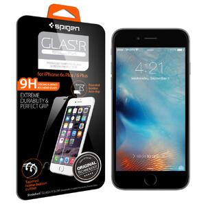 Купить Защитное стекло Spigen GLAS.tR SLIM для iPhone 6 Plus/6s Plus (2 стекла)