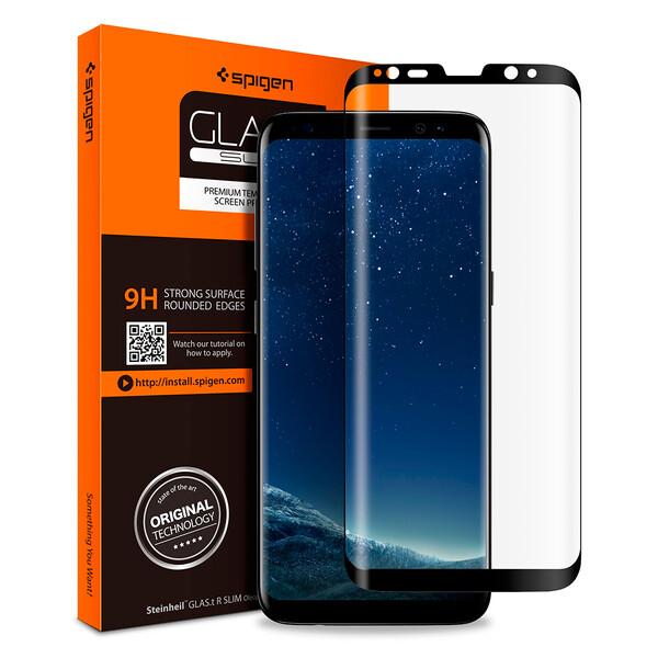 Защитное стекло Spigen GLAS.tR SLIM для Samsung Galaxy S8