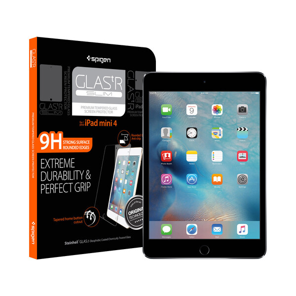 Защитное стекло Spigen GLAS.tR SLIM для iPad mini 5 | 4