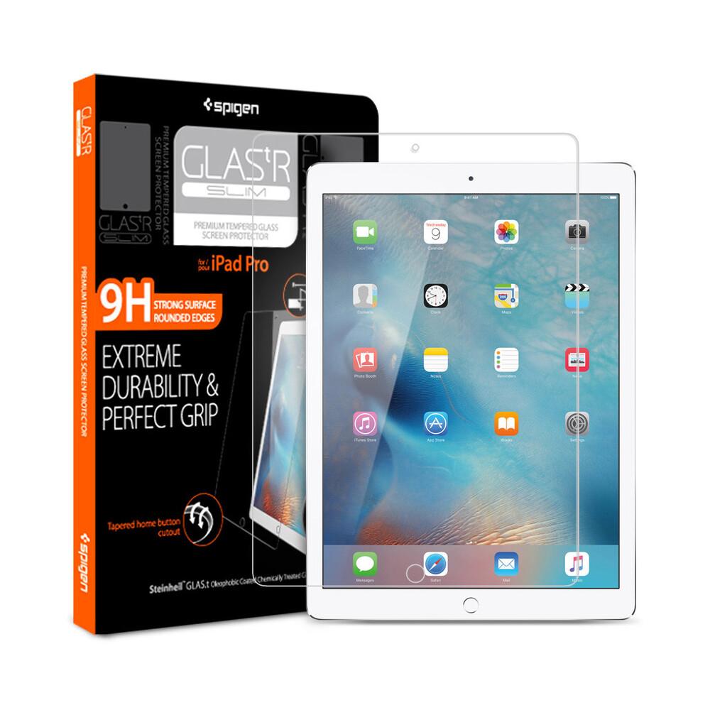 """Купить Защитное стекло Spigen GLAS.tR SLIM для iPad Pro 12.9"""""""