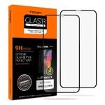 Защитное стекло Spigen GLAS.tR SLIM Full Cover для iPhone 11 Pro/X/XS (2 стекла)