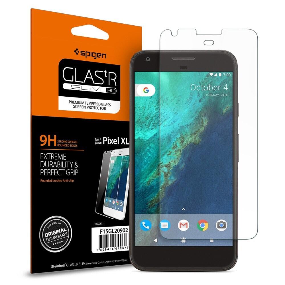 Защитное стекло Spigen GLAS.tR SLIM HD для Google Pixel XL