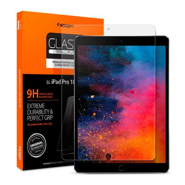"""Защитное стекло Spigen GLAS.tR SLIM для iPad Pro 10.5""""   Air 3 (1 стекло)"""