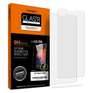 Купить Защитное стекло Spigen GLAS.tR SLIM для LG G6