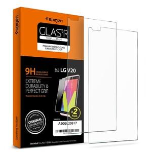 Купить Защитное стекло Spigen GLAS.tR SLIM для LG V20 (2 стекла)