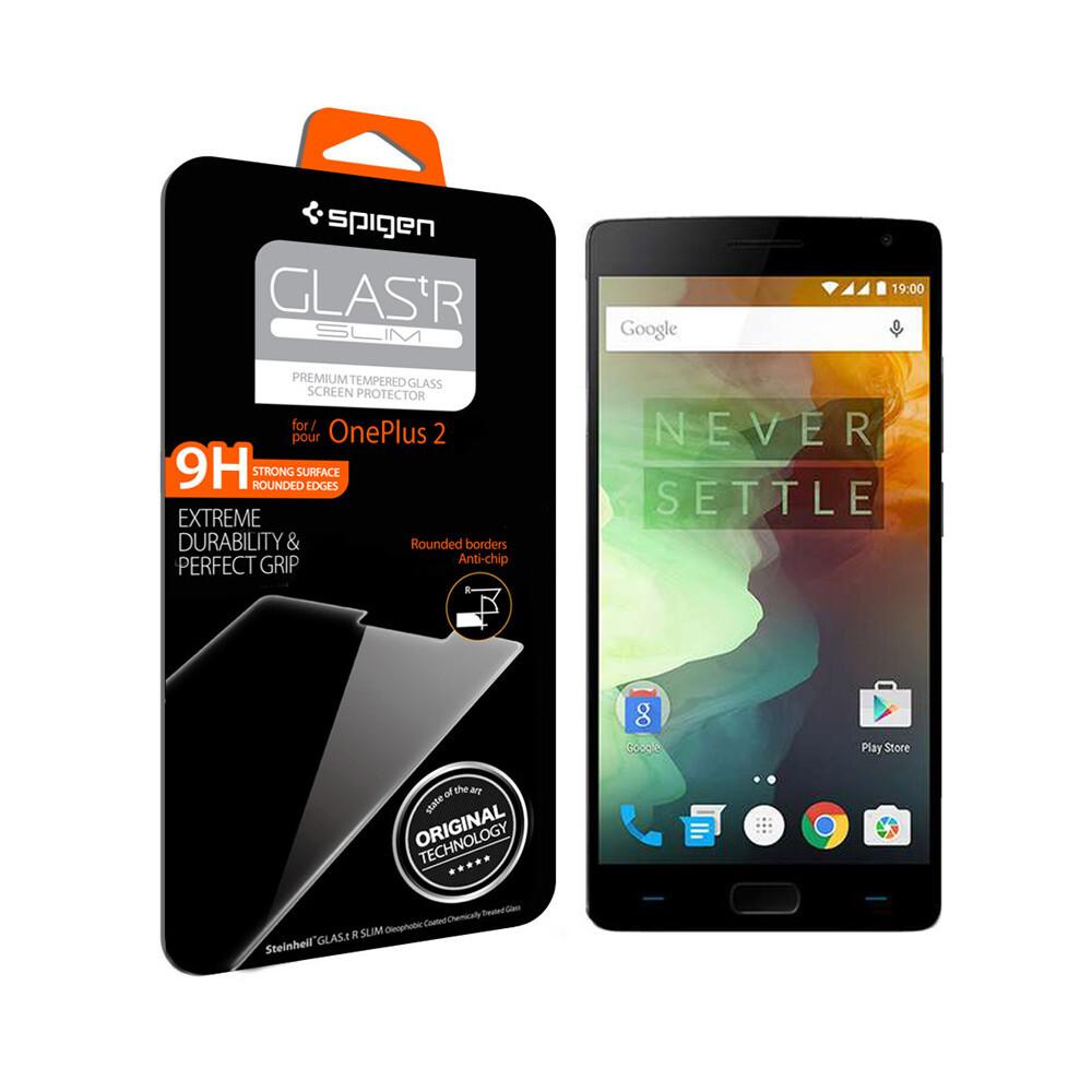 Защитное стекло Spigen GLAS.tR SLIM для OnePlus 2