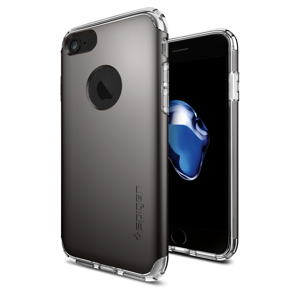 Чехол Spigen Hybrid Armor Gunmetal для iPhone 7/8