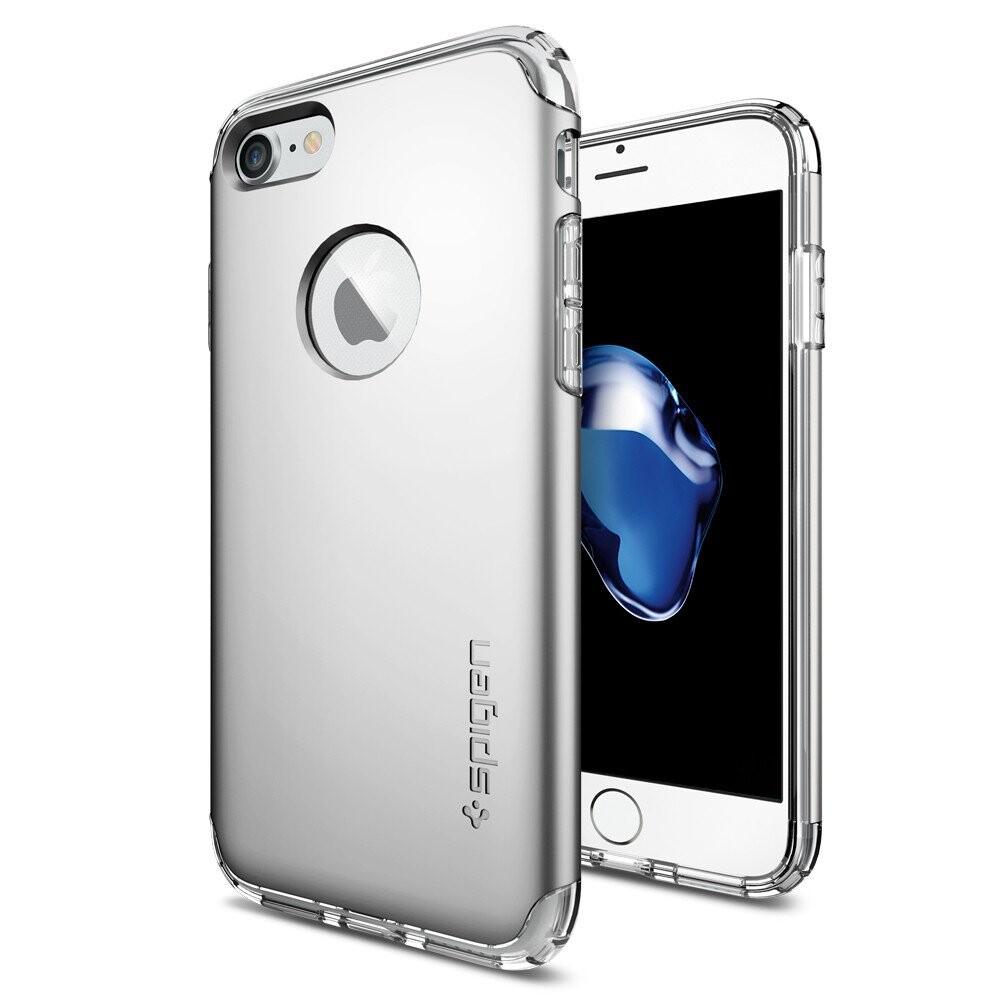 Чехол Spigen Hybrid Armor Satin Silver для iPhone 7/8