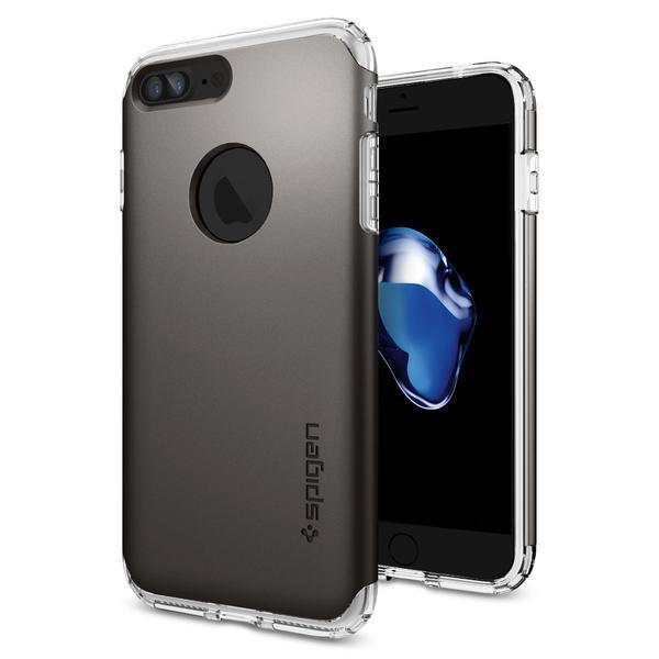 Чехол Spigen Hybrid Armor Gunmetal для iPhone 7 Plus | 8 Plus