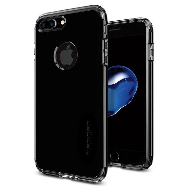 Чехол Spigen Hybrid Armor Jet Black для iPhone 7 Plus